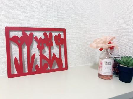 花畑Red  (舟橋全二デザイン壁掛)