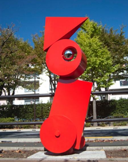 現代彫刻でご活躍の彫刻家 武荒信顕さんの作品